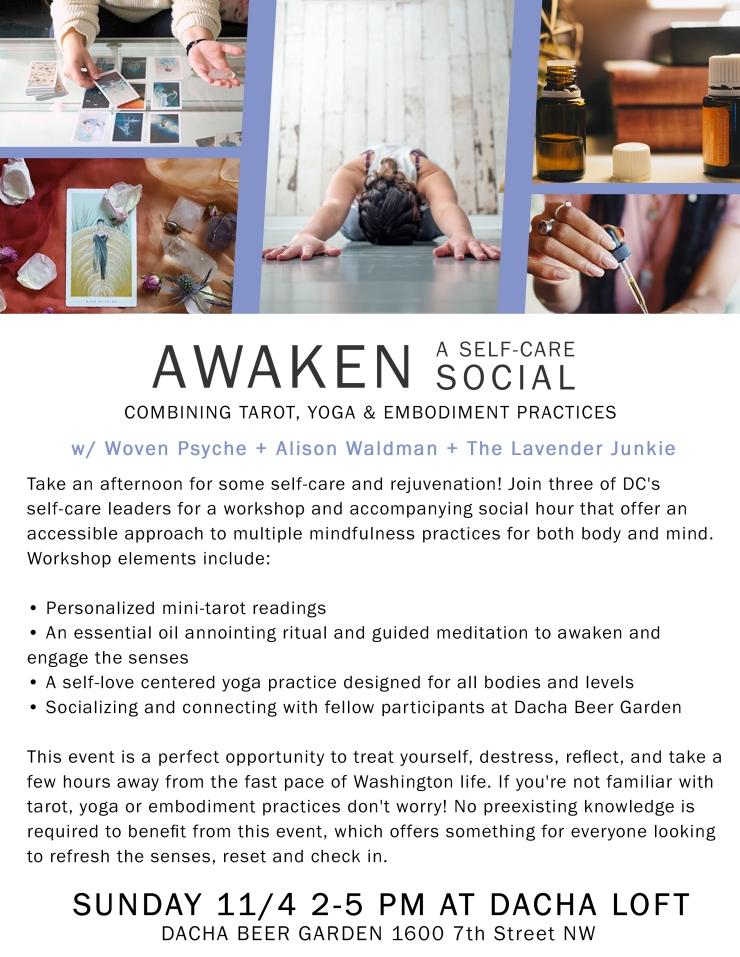 Awaken 11-4 poster